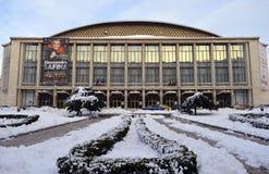 Sala Palatalui, palazzo Hall Concert Arena, Bucarest, Romania Fotografia Stock