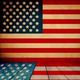 Sala patriótica Imagens de Stock