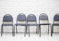 Sala per conferenze con il muro di mattoni Fotografie Stock