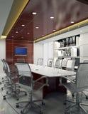 Sala per conferenze 3d Fotografia Stock