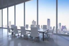 Sala per conferenze vuota Immagine Stock