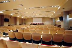 Sala per conferenze vuota Fotografia Stock