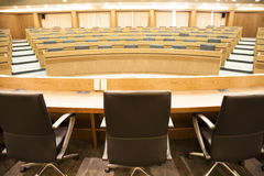 Sala per conferenze vuota Fotografia Stock Libera da Diritti