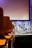 Sala per conferenze vuota Immagini Stock