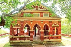 Sala Phra Wihan Daeng, Songkhla, Thailand. This pavilion was constructed under the royal command of King Rama IV and was still unfinished. In 1889 when the King Royalty Free Stock Image