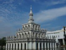 Sala Phum Khao Bin badade i morgonljus Arkivfoto
