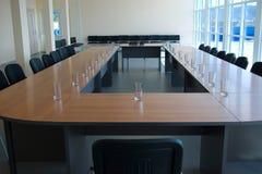sala posiedzeń stół Zdjęcie Stock