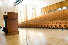 sala pusty wykład fotografia royalty free