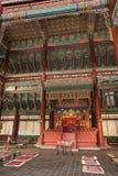Sala real do trono em Coreia Fotos de Stock Royalty Free