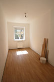 Sala recentemente renovada Imagem de Stock