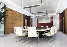 sala riunioni 3d Immagine Stock