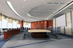 sala riunioni 3d 2 Immagine Stock