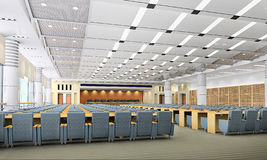 sala riunioni 3d Fotografia Stock