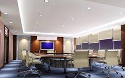 sala riunioni 3d Fotografia Stock Libera da Diritti