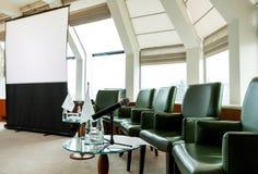 Sala riunioni alla conferenza Fotografia Stock