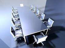 Sala riunioni del metallo 2 Immagini Stock Libere da Diritti