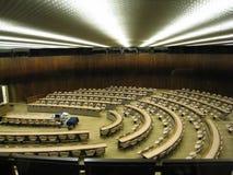 Sala riunioni dell'ONU Fotografia Stock