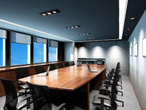 Sala riunioni dell'ufficio Immagini Stock Libere da Diritti