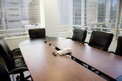 Sala riunioni e finestre Fotografia Stock