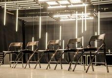 Sala riunioni moderna fotografia stock