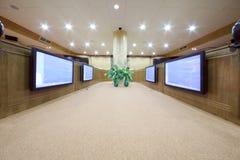Sala riunioni nel servizio di statistiche dello stato federale della Russia Fotografia Stock