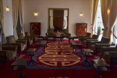 Sala riunioni in palazzo presidenziale Ho Chi Minh Fotografia Stock