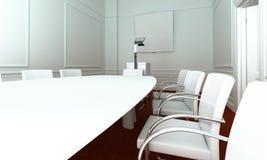 Sala riunioni semplice fotografia stock