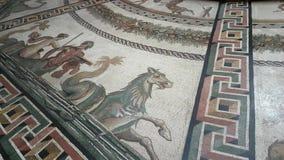 Sala Rotonda in het Museum van Vatikaan stock video