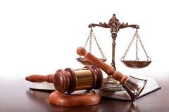 Sala sądowa szczegóły Obraz Stock