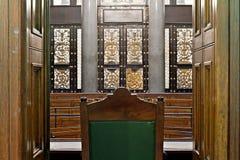 sala sądowa widok Zdjęcie Stock