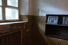 Sala soviética das comunicações Fotos de Stock