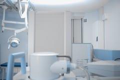 Sala szpitalna z Radiologicznym wyposażeniem Zdjęcia Royalty Free
