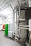 Sala técnica da câmara de combustão Fotografia de Stock