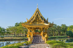 Sala Tajlandzki pawilon Zdjęcie Stock