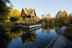 Sala Thai. Sala Tahi in Westpark in Munich Royalty Free Stock Photo