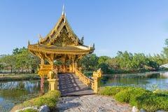 Sala Thai Pavilion Lizenzfreies Stockfoto