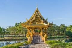 Sala Thai Pavilion Stock Photo