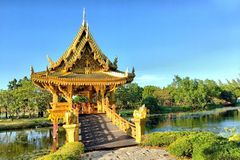 Sala Thai Pavilion Stock Photos