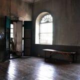 Sala vazia abandonada Imagens de Stock Royalty Free