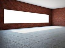 Sala vazia com indicador Fotos de Stock