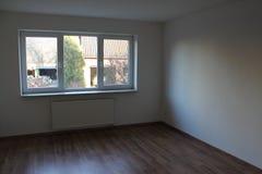 Sala vazia com uma janela grande Imagem de Stock Royalty Free