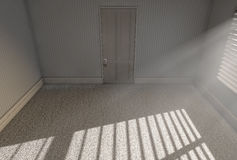 Sala vazia da luz solar da manhã Fotos de Stock Royalty Free
