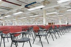 A sala vazia do exame para o exame dos adultos aponta Imagens de Stock Royalty Free