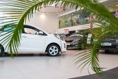 Sala wystawowa KIA i samochód przedstawicielstwo handlowe Kia Kirov w Kirov mieście Obrazy Stock