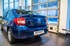 Sala wystawowa Renault i samochód przedstawicielstwo handlowe Tehzentr Gusar w Kirov c Zdjęcie Stock