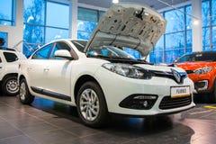 Sala wystawowa Renault i samochód przedstawicielstwo handlowe Tehzentr Gusar w Kirov c Zdjęcia Royalty Free