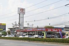 SALA WYSTAWOWEJ Toyota samochodu usługa Fotografia Royalty Free