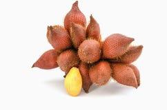 Sala of zoete en zure fruit het van Zalacca, van Azië stock fotografie