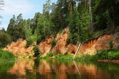 Salaca river Stock Photos