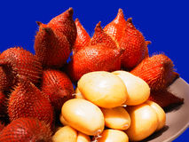 Salacca. The fruits that have sweet and sour flavors Stock Photography